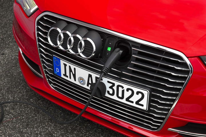 audi plug in hybrids proliferate with planned a6 a8 q7 models a3 e tron front
