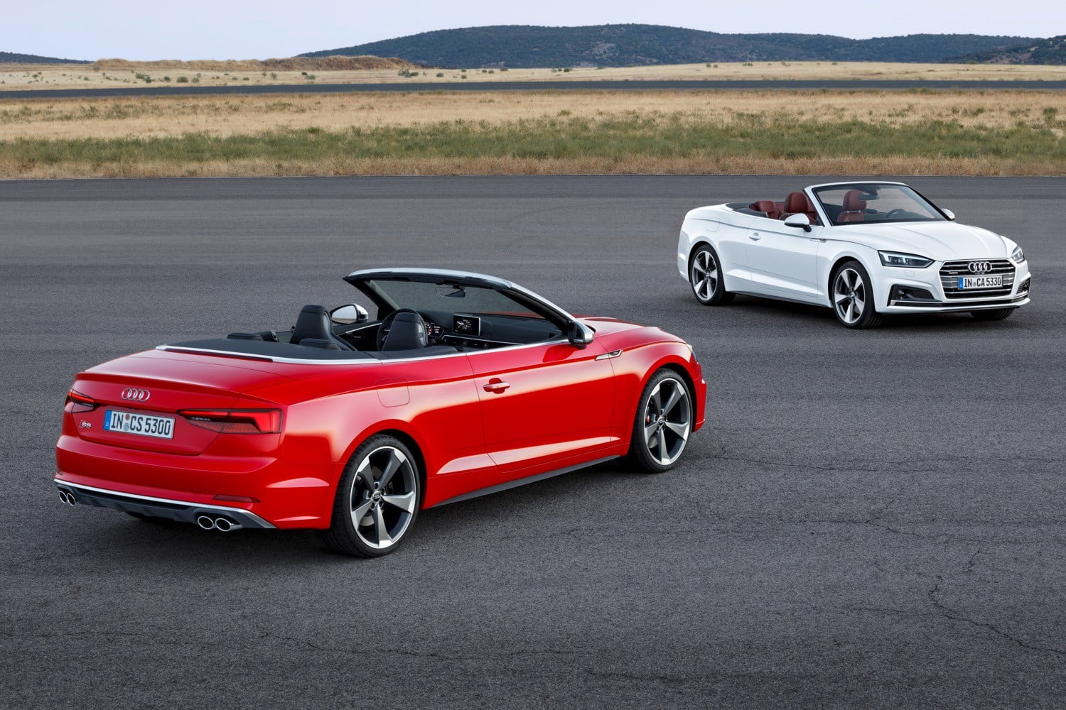 Audi A5 and S5 Cabriolet