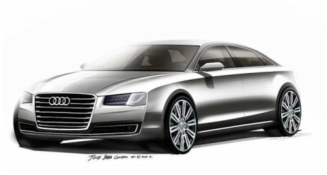 audi sketches reveal sleeker a8 update refreshed3