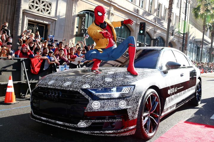 Audi A8 at 'Spider-Man: Homecoming' premiere