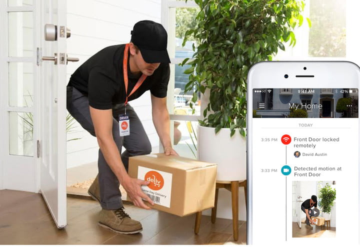 August Home and Deliv introduce August Access