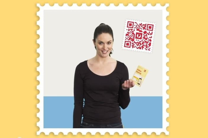 australia post introduces video stamps