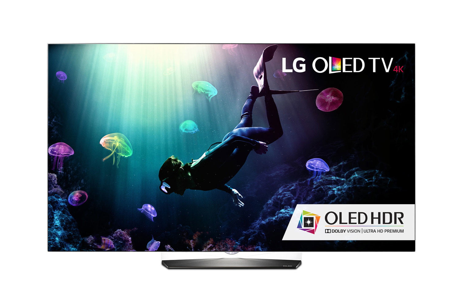 lg 2016 oled tv line price availability features b6 front scuba infill w hdr logo  1
