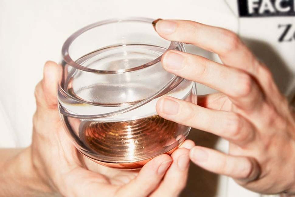 ballantines has invented a zero gravity whisky glass so you can get buzzed in space 0012