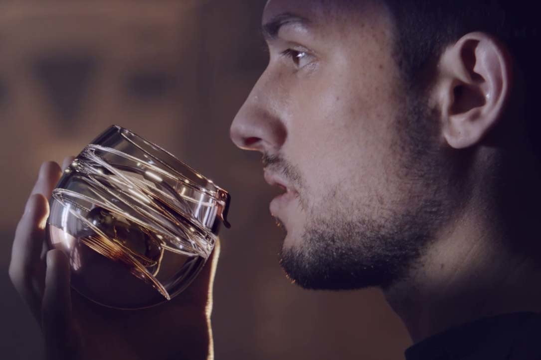 ballantines has invented a zero gravity whisky glass so you can get buzzed in space 004