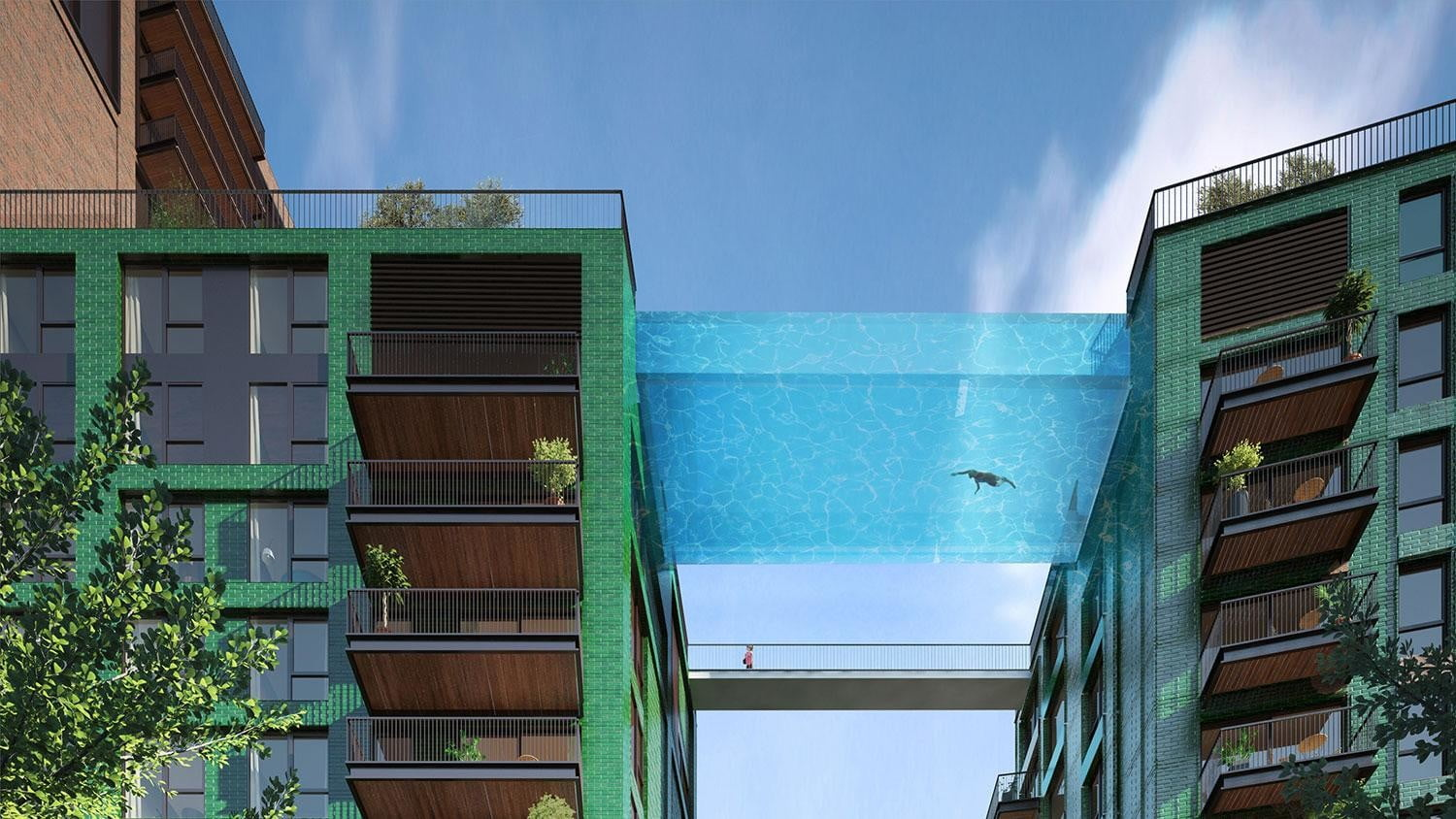 this swimming pool will be 100 feet in the air and join two buildings ballymore embassy gardens 21
