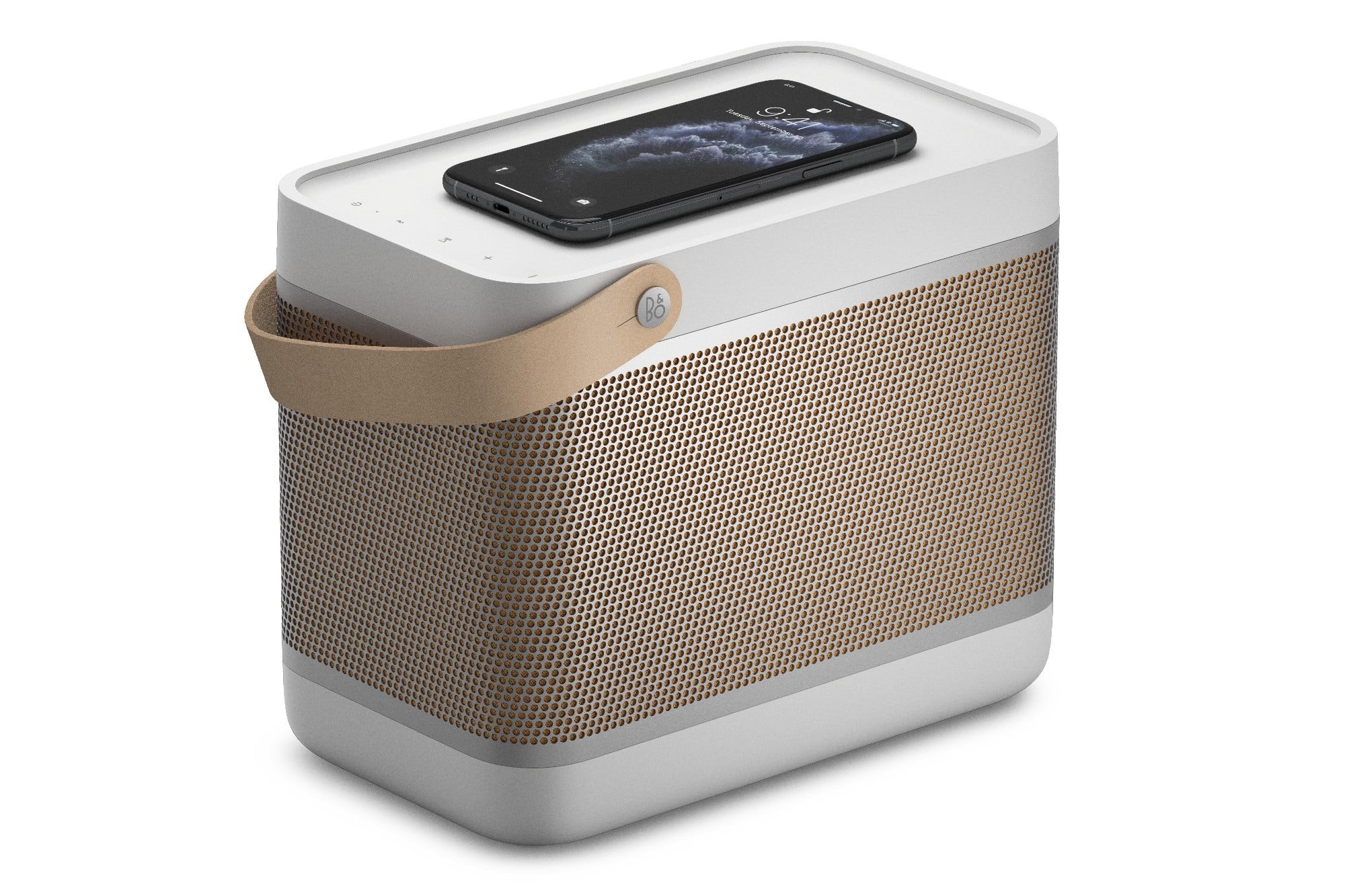 Bang and Olufsen Beolit 20 Bluetooth speaker with wireless charging
