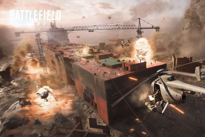 Battlefield 2042 Helicopters
