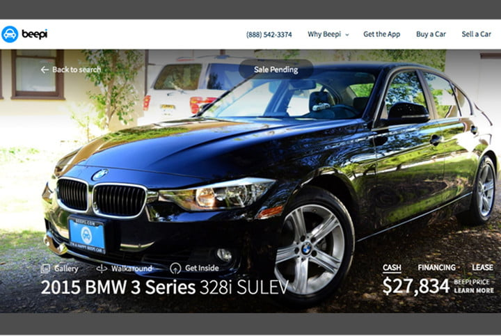 beepi online used cars nationwide leasing car virtual reality bmw 3281 example 1000x667