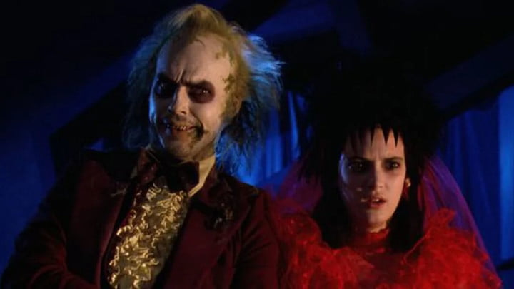 A scene from Beetlejuice.