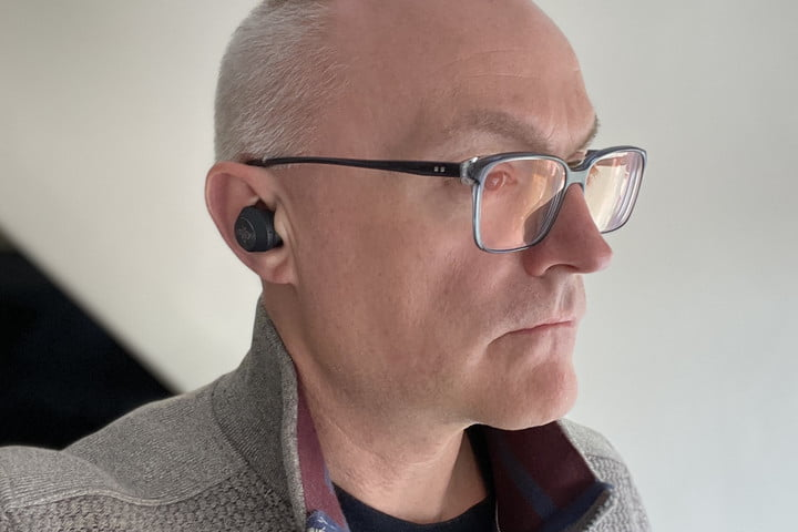 Beoplay EQ seen in the ear.