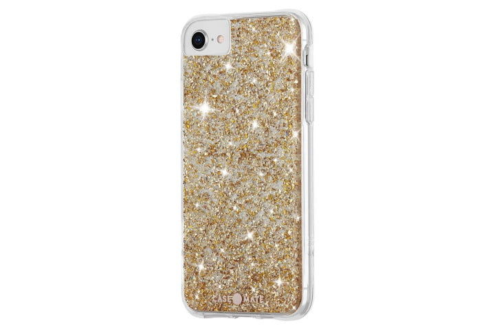 Case-Mate Twinkle Case for iPhone SE (2020).