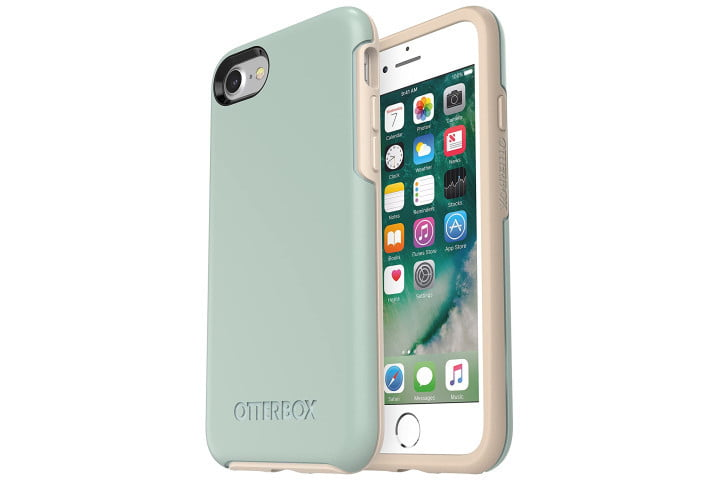 OtterBox case for iPhone SE (2020).
