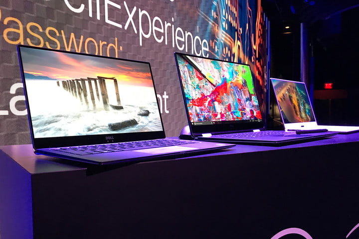 dell xps 13 vs 15 2 in 1 best laptops ces 2018