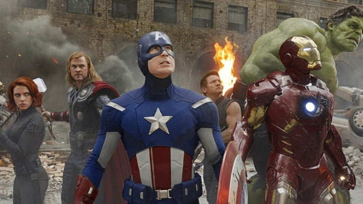 The Avengers gathered.