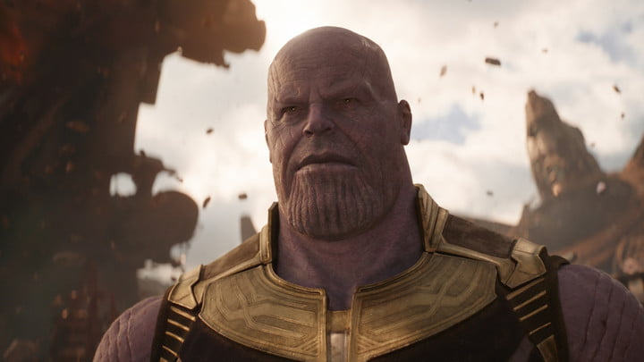 Thanos in Avengers: Infinity War.
