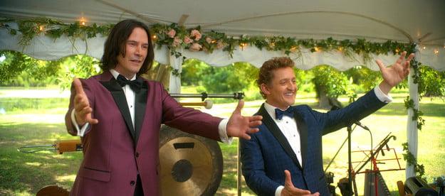Keanu Reeves and Alex Winter in Bill & Ted Face the Music