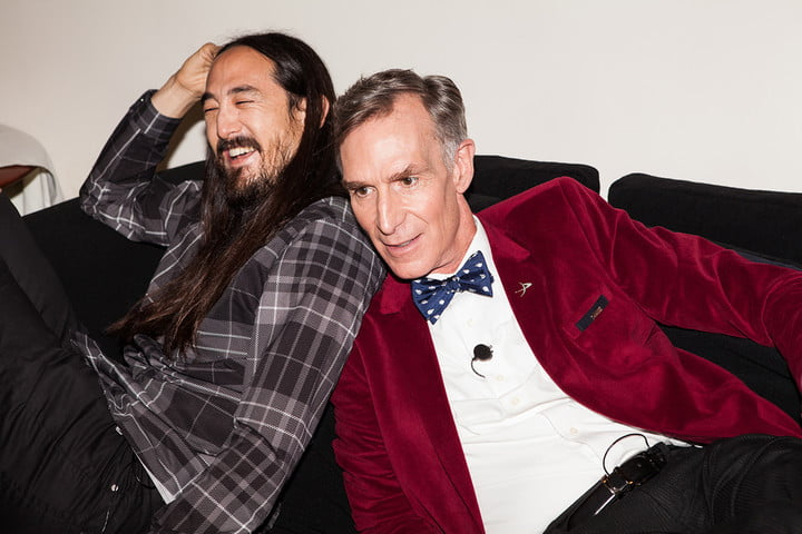 bill nye to collaborate with producer steve aoki