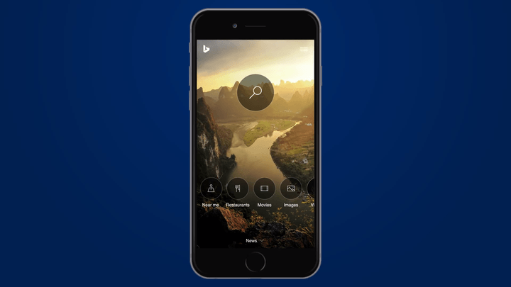 microsofts new bing app for ios serves up useful information from other apps