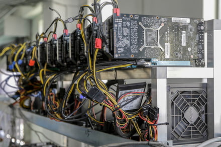 25% of the GPUs sold in the first part of 2021 went to crypto miners