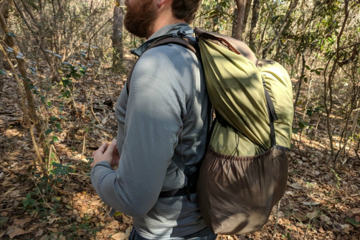 bivypack backpack and tent in one bivy1