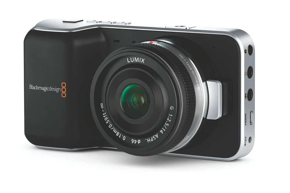 blackmagic shows off sub 1k micro four thirds cinema camera puts red and canon on notice announces pocket 1