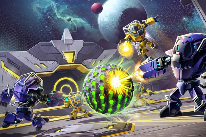 metroid federation force minigame released as free eshop download blastball header