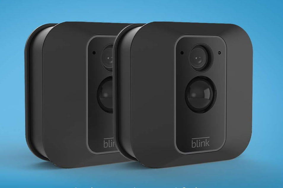 amazon pre prime day deals on blink xt outdoor security cameras xt2 smart camera  2 kit 1