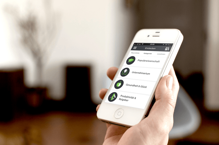 blinkist app review iphone