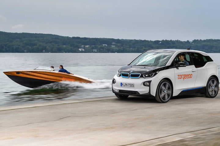 BMW's i3 battery pack powers Torqeedo's electric boats.