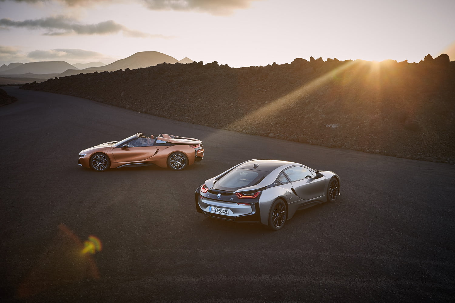 2019 bmw i8 roadster news specs performance price pictures shooting lanzarote