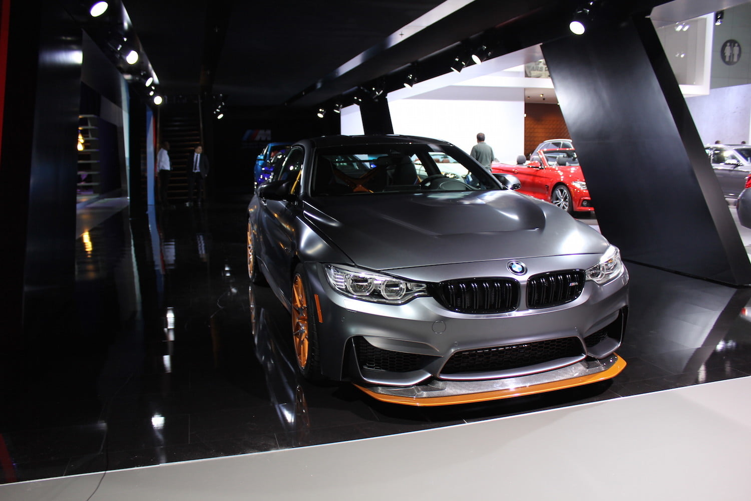 BMW M4 GTS Front Angle