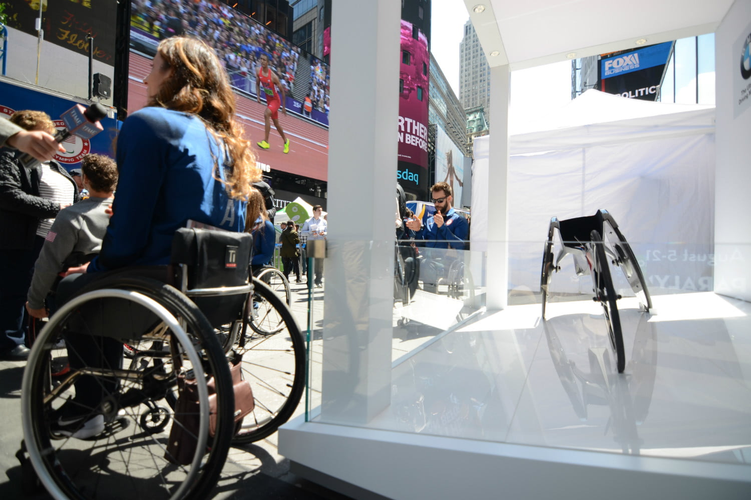 road to rio new york city bmw racing wheelchair 3