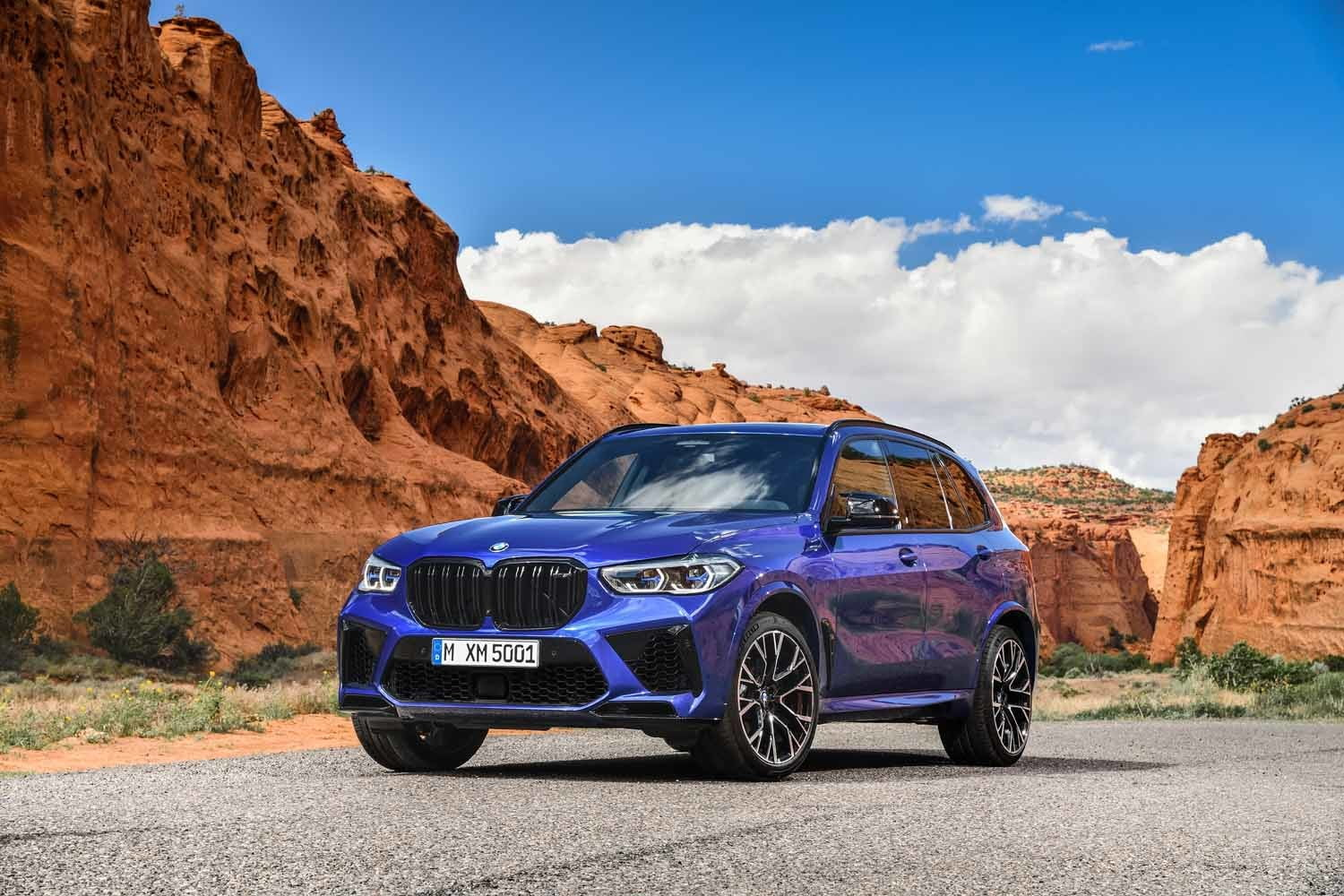 2020 bmw x5 m x6 get 600 horsepower v8 competition package x5m