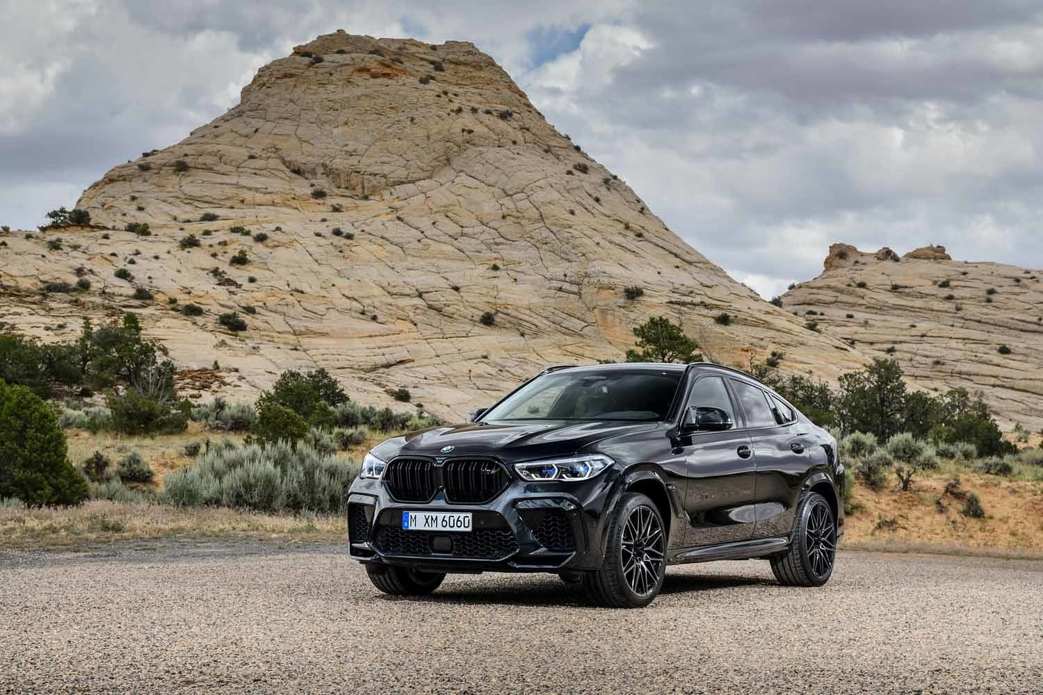 2020 bmw x5 m x6 get 600 horsepower v8 competition package x6m