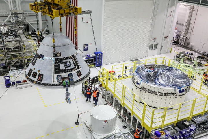 NASA and Boeing teams are adjusting the launch date of Orbital Flight Test-2 to allow more time for CST-100 Starliner spacecraft and hardware processing.