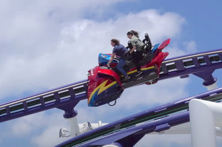 Check out the first-ever roller coaster on a cruise ship
