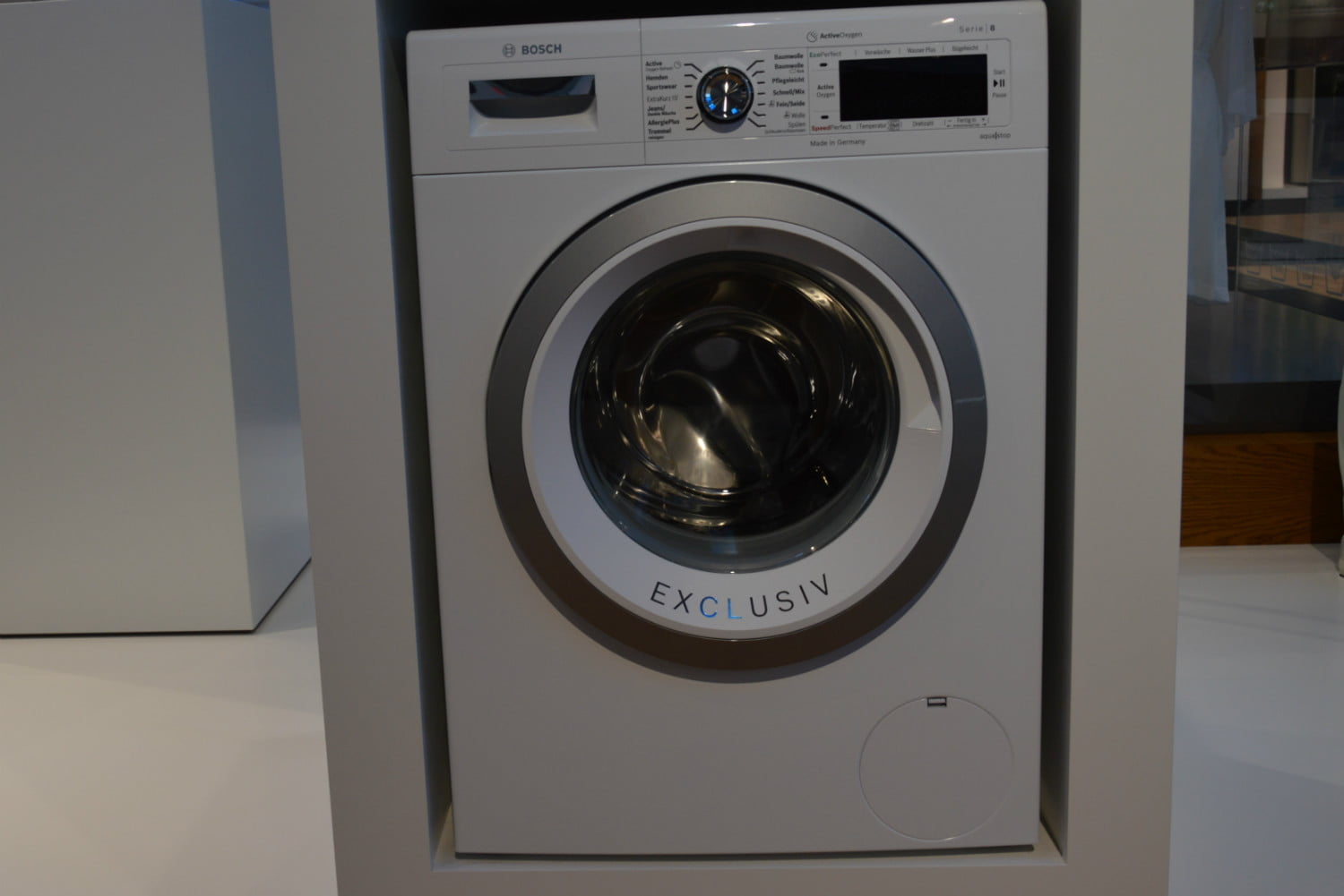 cool washers and dryers from ifa 2016 bosch active oxygen