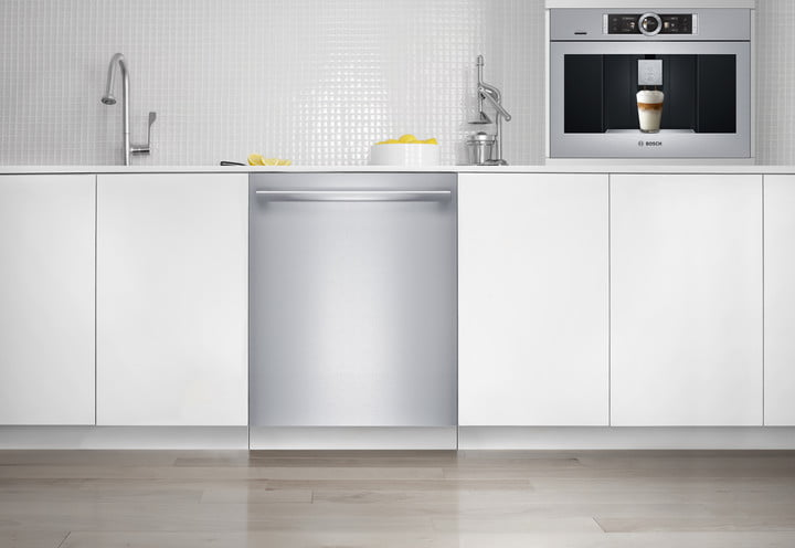 bosch home connect dishwasher and coffee machine