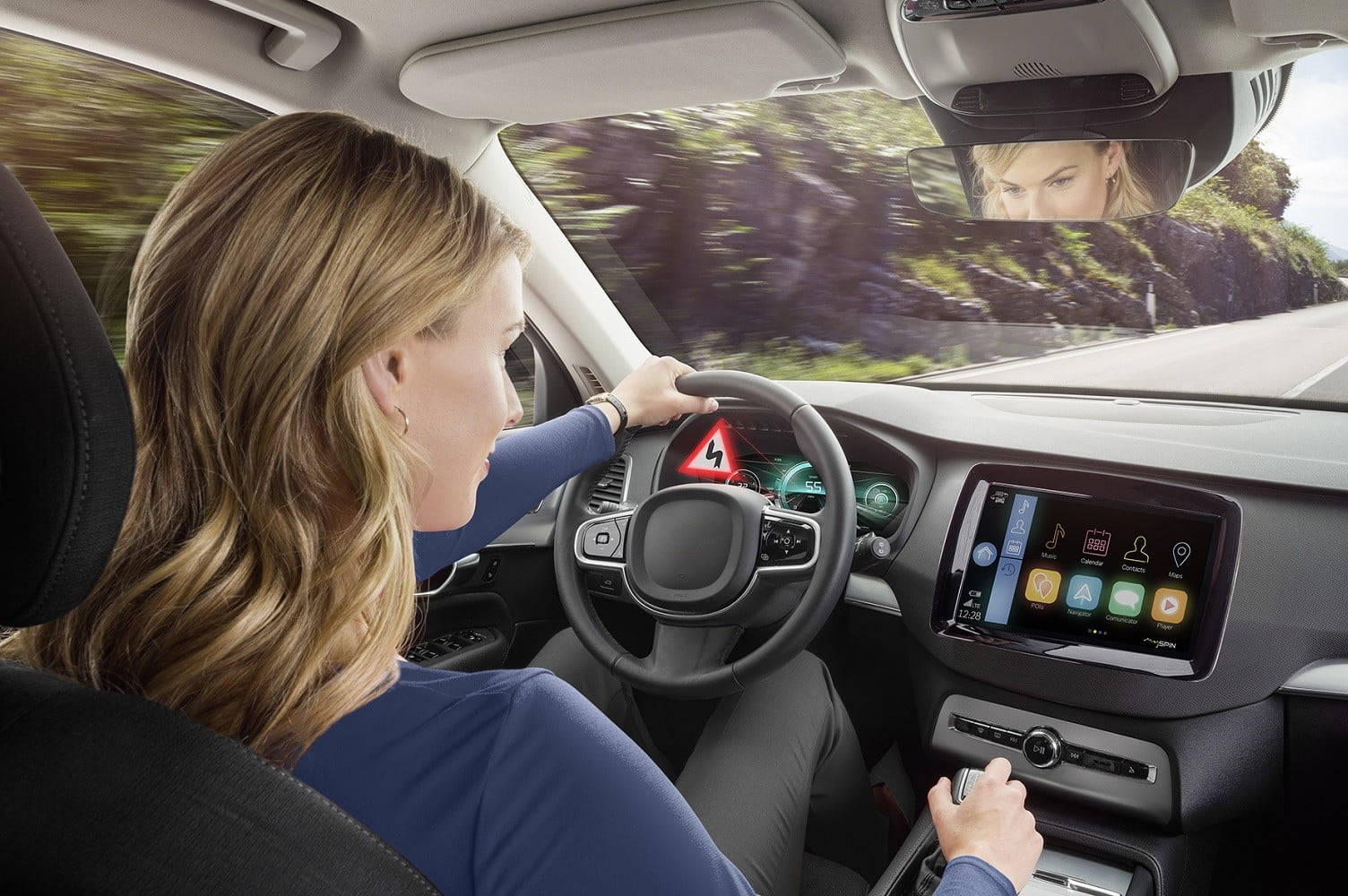 bosch bringing 3d technology to in car information and infotainment screens display