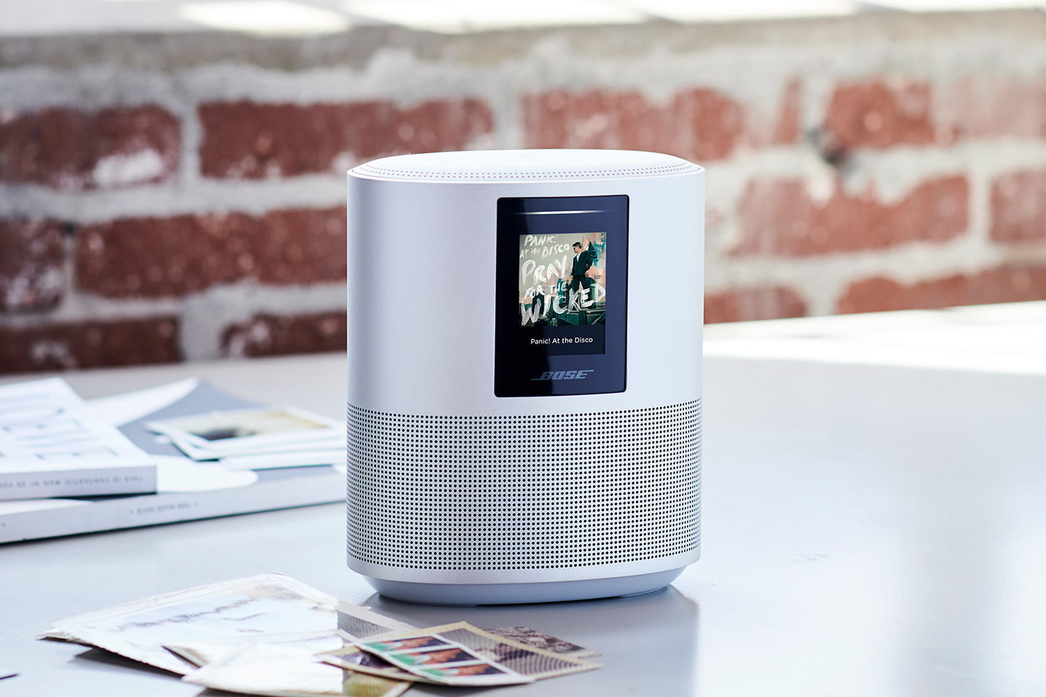 bose home speakers 500 white