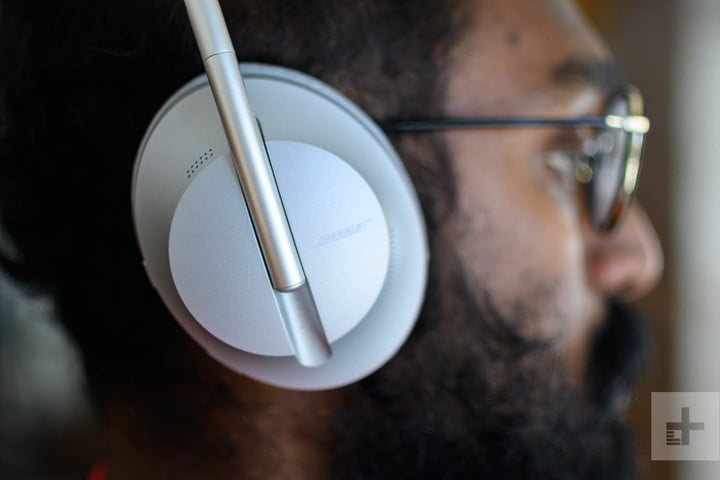 Bose Noise Cancelling Headphones 700 side view.