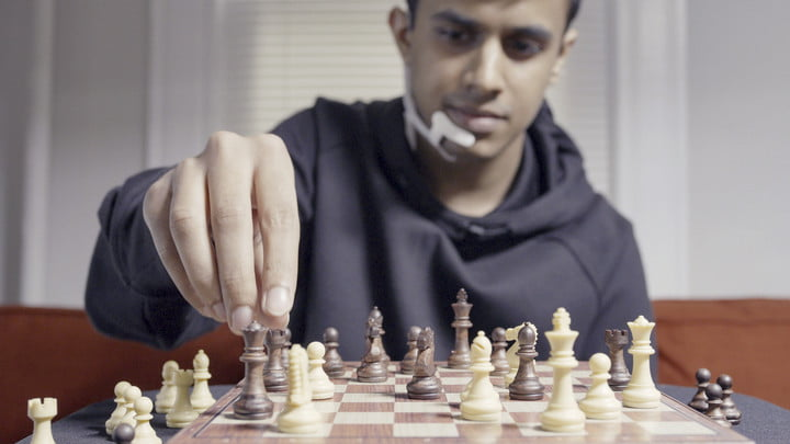 Playing Chess with Alterego by Arnav Kapur and MIT