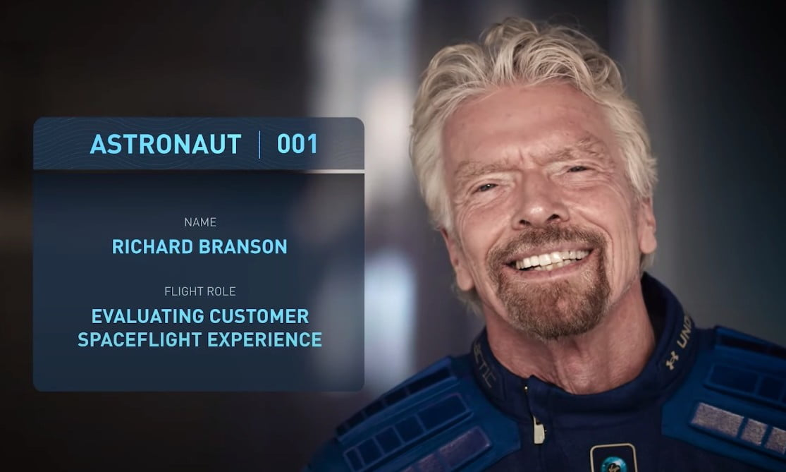 Branson aiming to beat Bezos in billionaires� race to space