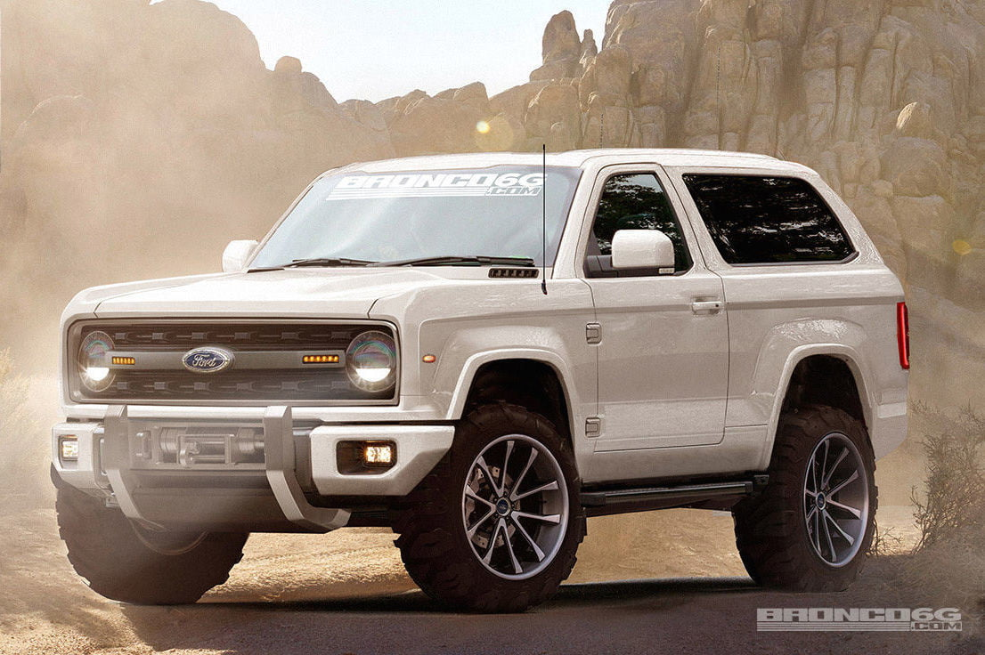 Bronco6G Render front angle ford tough