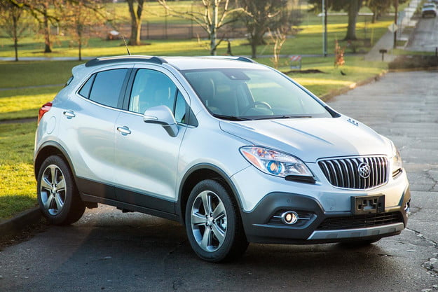 2014 buick encore review front angle