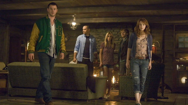The Cabin in the Woods on Hulu