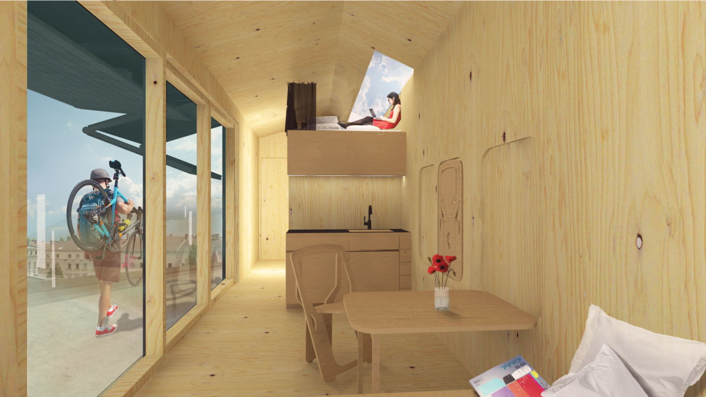 cabin spacey roof home 002
