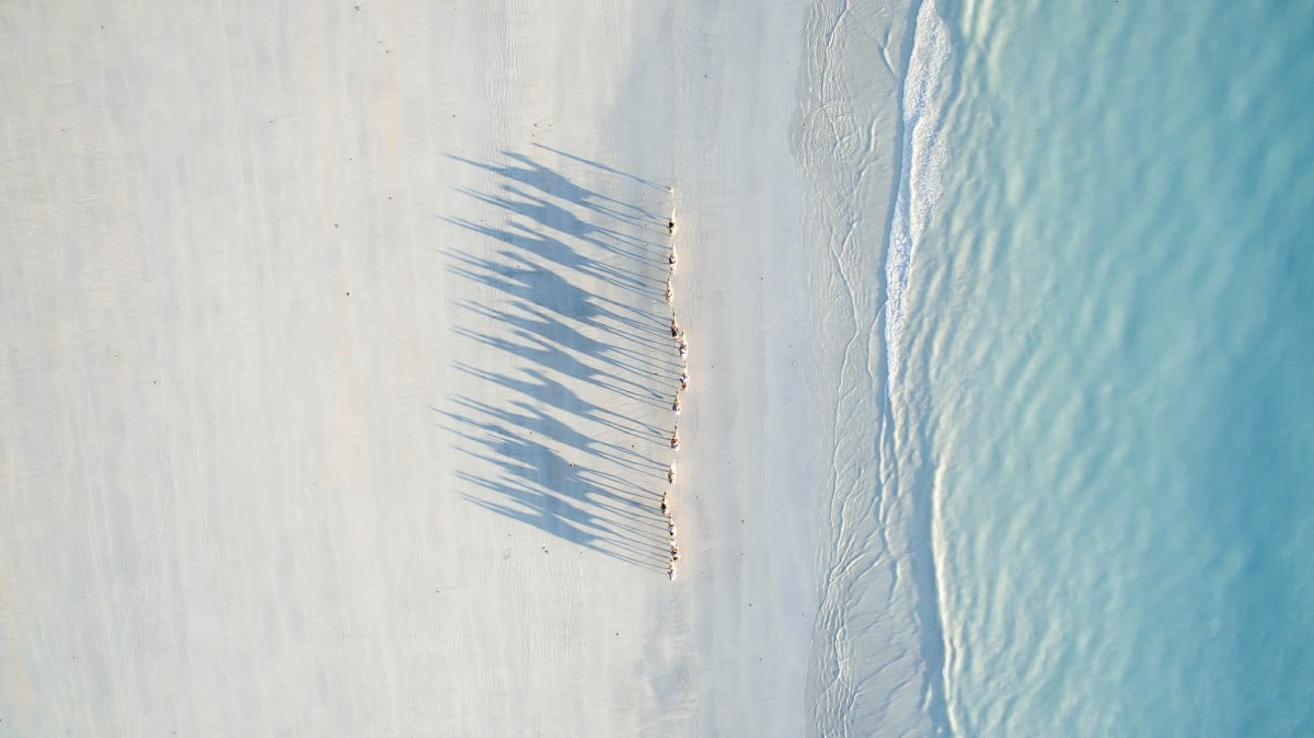 dronestagram best of 2016 cable beach by todd kennedy