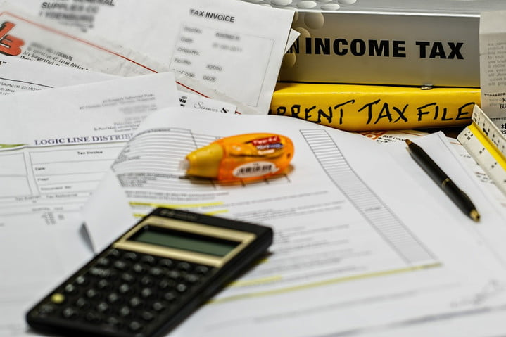 Calculating income taxes